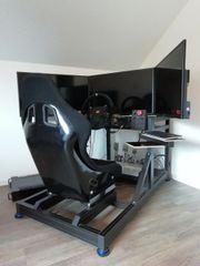 SimRig - DD Wheel SimuCube Heusinkveld