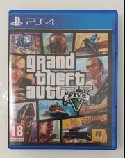 Playstation 4 Gta 5 Spiel