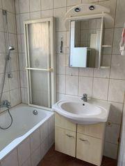 Badschrank komplett mit Wasserhahn