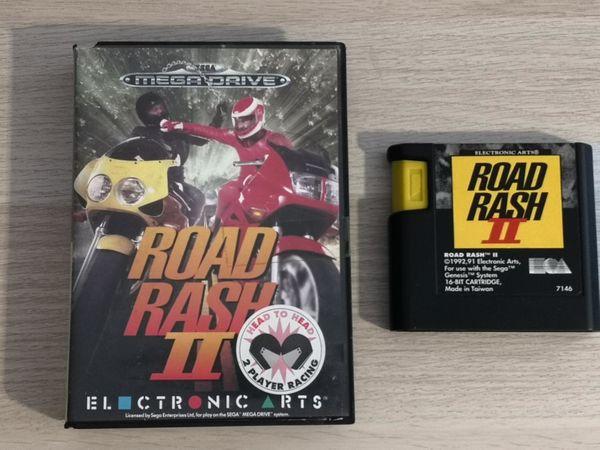 Sega Mega Drive Spiel Road