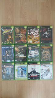 XBox Spiele X Box