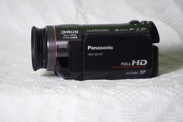 Panasonic HDC-SD707EG Full-HD