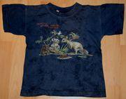 ORIGINAL - Blaues T-Shirt - Größe 110 - Kurzarm