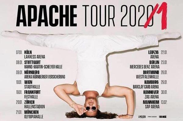 Apache 207 2x Tickets Mannheim