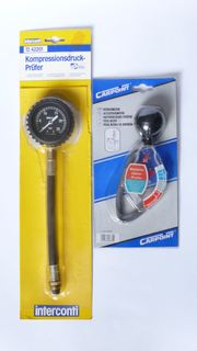 1 Kompressionsprüfer Kompressionstester 1 Batteriesäure-Prüfer