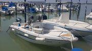 Konsolenboot Motorboot Yamaha 100PS 4