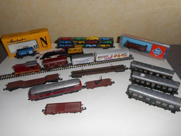 Eisenbahn N Spur Wagons Schiehnen