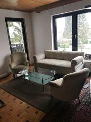 couchgarnitur 2 Sessel und 1