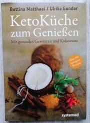 Buch Keto Küche zum Genießen