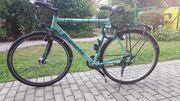 Hochwertiges Fahrrad im guten Stand