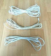 3 x Antennenkabel - Gesamtlänge 18