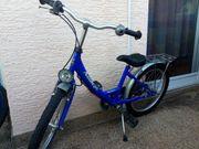 Fahrbereites blaues Kinder Fahrrad Antilope