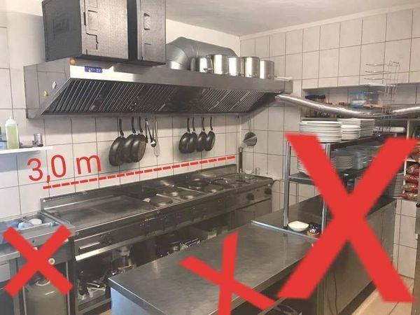 Küchenzeile Gastronomie