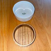 Rosenthal Porzellan Schatulle mit Holzboden