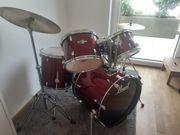 Schlagzeug Drum-Set 8-teilig