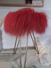 Badhocker pink Original 50-er-Jahre