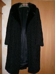 Schwarzen Persianermantel