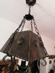 Deckenlampe Kupferlampe sehr schön alt