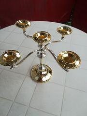 5-armiger Tisch-Kerzenleuchter Kerzenständer einzeln WMF