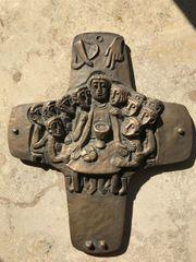 Bronzekreuz 24x29cm