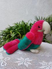Neuwertiger süßer größerer Deko-Papagei Lorenzo