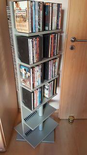 CD DVD-Regal drehbar