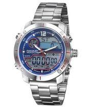 Atlas Uhr Edelstahl Armbanduhr Digital