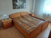 Massiveholz Schlafzimmer komplett super Zustand