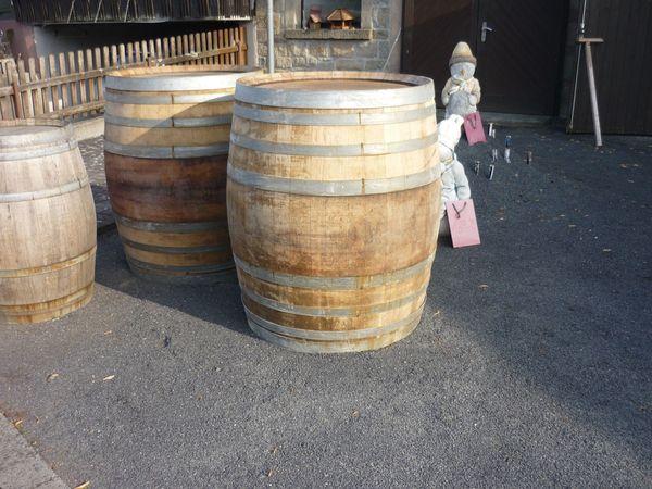 Weinfässer alt Holzart Eiche massiv