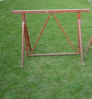 Baustützen Stahlrohr Gerüstbock Bauzwingen