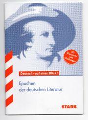 Deutsch - auf einen Blick Epochen