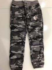 Jungen Camouflage Hose Thermo Thermohose