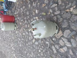 Campingartikel - Propan Gasflasche 11kg Leer