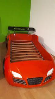 Autobett für Kinder mit Lattenrost