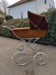 Vintage Gondel-Kinderwagen Marke Gesslein
