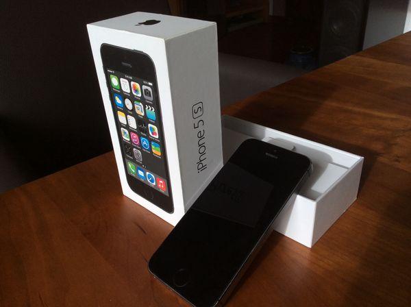 iPhone 5s 32GB schwarz
