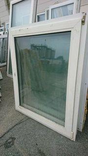 3 Kunststoff Fenster 102 cm