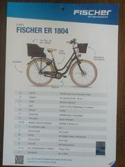 Fischer E-CITY bike mit 2
