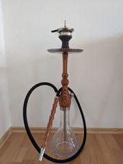 Shisha Wasserpfeife aus Holz und