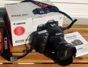 Canon EOS 80D neuwertig