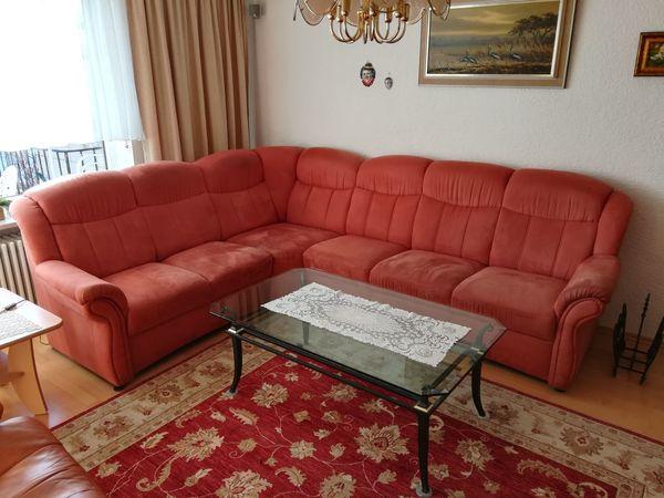 Verkaufe Polstergarnitur 2 3 Sitzer