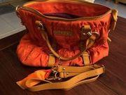 Top Zustand Designer Handtasche orange