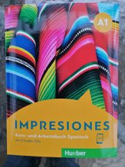 Impresiones A1 - Kurs-und Arbeitsbuch Spanisch