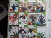 xbox 360 Spiele Sammlung