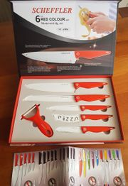 Messerset Scheffler 6 teilig Red