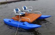 Angelboot für 2 Personen Seepferdchen