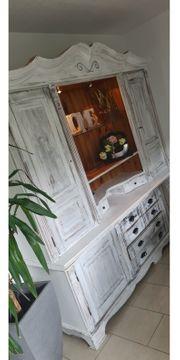 Shabby Chic Vintage Wohnzimmerschrank Bauernschrank