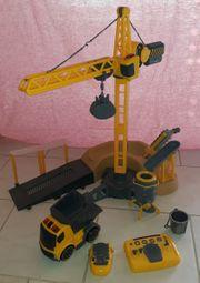 Silverlit Kran Baustelle mit LKW