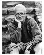 PAUL NEWMAN Autogramm Widmung Foto