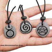Wicca Hexensteine 3er set Spirale